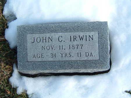 IRWIN, JOHN C. - Polk County, Iowa | JOHN C. IRWIN