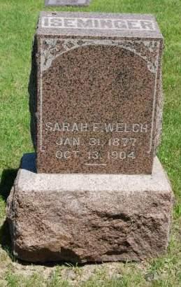 ISEMINGER, SARAH ELSIE - Polk County, Iowa | SARAH ELSIE ISEMINGER