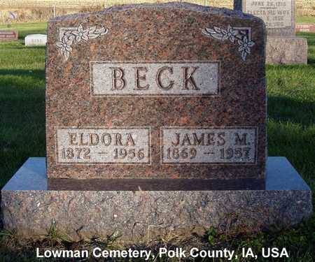 BECK, JAMES M. - Polk County, Iowa | JAMES M. BECK
