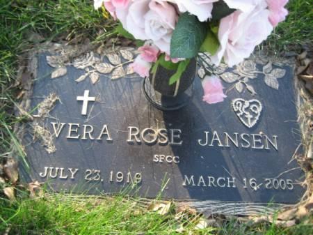 JANSEN, VERA ROSE - Polk County, Iowa | VERA ROSE JANSEN