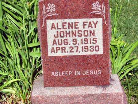 JOHNSON, ALENE FAY - Polk County, Iowa | ALENE FAY JOHNSON