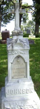 JOHNSON, ANNA D - Polk County, Iowa | ANNA D JOHNSON