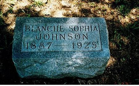JOHNSON, BLANCHE SOPHIA - Polk County, Iowa | BLANCHE SOPHIA JOHNSON