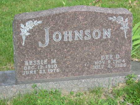 JOHNSON, BESSIE M. - Polk County, Iowa | BESSIE M. JOHNSON