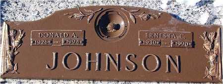 MASCAGNI JOHNSON, EARNESTA - Polk County, Iowa   EARNESTA MASCAGNI JOHNSON