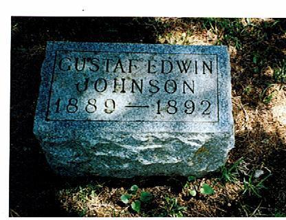 JOHNSON, GUSTAF EDWIN - Polk County, Iowa | GUSTAF EDWIN JOHNSON