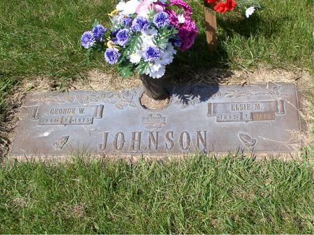JOHNSON, ELSIE M - Polk County, Iowa | ELSIE M JOHNSON