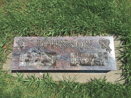 JOHNSON, JEANNE EVANGELINE - Polk County, Iowa   JEANNE EVANGELINE JOHNSON