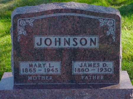 JOHNSON, JAMES D. - Polk County, Iowa | JAMES D. JOHNSON