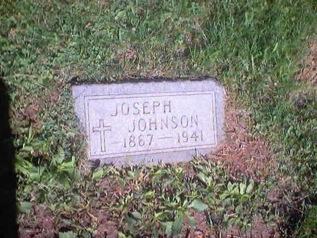 JOHNSON, JOSEPH - Polk County, Iowa | JOSEPH JOHNSON