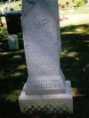 JOHNSON, LEWIS H. - Polk County, Iowa | LEWIS H. JOHNSON