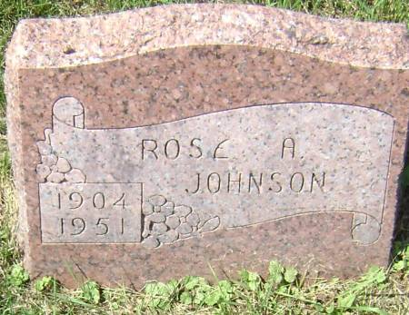 JOHNSON, ROSE A. - Polk County, Iowa | ROSE A. JOHNSON