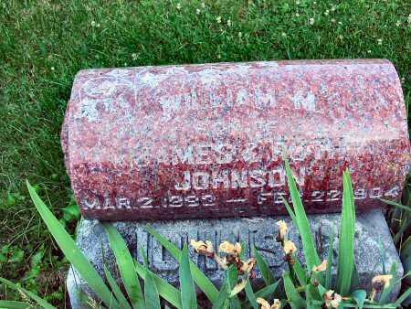 JOHNSON, WILLIAM M - Polk County, Iowa | WILLIAM M JOHNSON