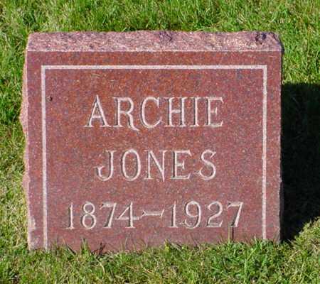 JONES, ARCHIE - Polk County, Iowa | ARCHIE JONES