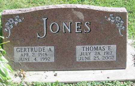 JONES, GERTRUDE A. - Polk County, Iowa | GERTRUDE A. JONES