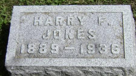 JONES, HARRY F - Polk County, Iowa | HARRY F JONES