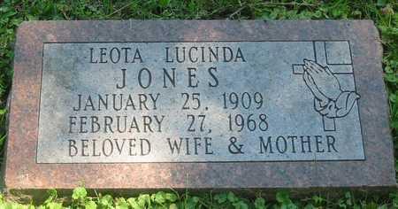 JONES, LEOTA LUCINDA - Polk County, Iowa | LEOTA LUCINDA JONES