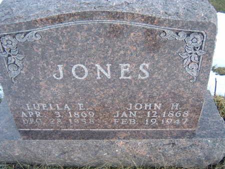 JONES, JOHN H. - Polk County, Iowa | JOHN H. JONES
