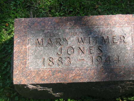 JONES, MARY WITMER - Polk County, Iowa | MARY WITMER JONES