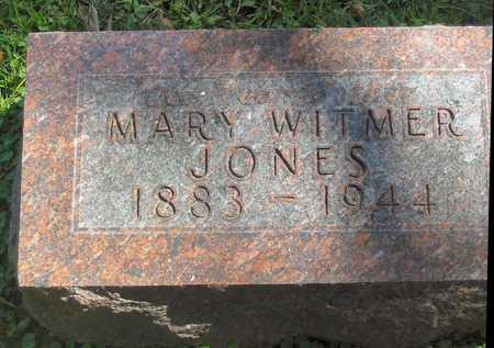 JONES, MARY WITMER 1883-1944 - Polk County, Iowa | MARY WITMER 1883-1944 JONES