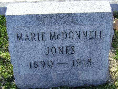 JONES, MARIE - Polk County, Iowa | MARIE JONES