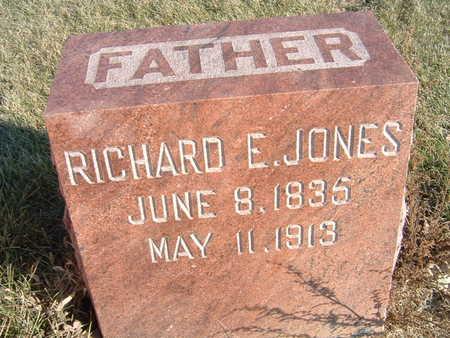 JONES, RICHARD E. - Polk County, Iowa   RICHARD E. JONES