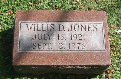 JONES, WILLIS D. - Polk County, Iowa | WILLIS D. JONES