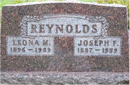 REYNOLDS, JOSEPH F. - Polk County, Iowa | JOSEPH F. REYNOLDS