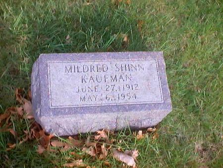 KAUFMAN, MILDRED - Polk County, Iowa | MILDRED KAUFMAN