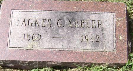 KEELER, AGNES G - Polk County, Iowa | AGNES G KEELER