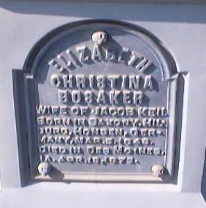 KEIL, ELIZABETH CHRISTINA - Polk County, Iowa | ELIZABETH CHRISTINA KEIL