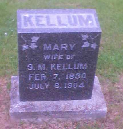 KELLUM, MARY - Polk County, Iowa | MARY KELLUM
