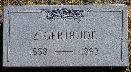 KEMPTON, Z. GERTRUDE - Polk County, Iowa   Z. GERTRUDE KEMPTON