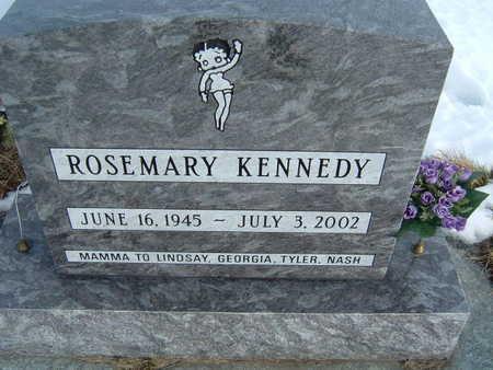 KENNEDY, ROSEMARY - Polk County, Iowa   ROSEMARY KENNEDY