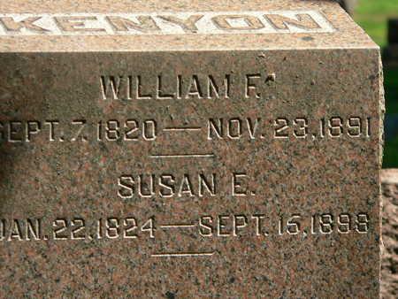 KENYON, WILLIAM F. - Polk County, Iowa | WILLIAM F. KENYON