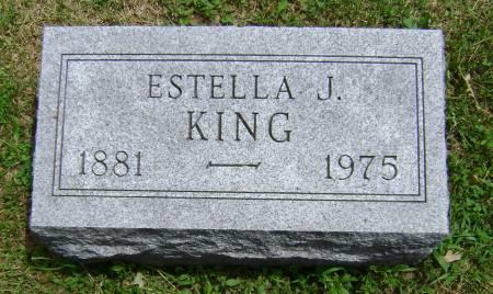 KING, ESTELLA J. - Polk County, Iowa | ESTELLA J. KING