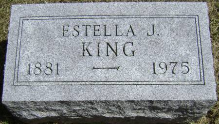 KING, ESTELLA J - Polk County, Iowa | ESTELLA J KING