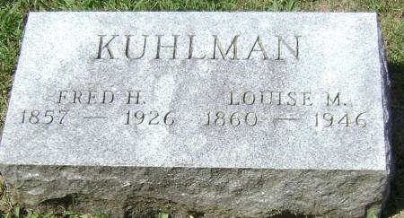 KUHLMAN, LOUISE M - Polk County, Iowa | LOUISE M KUHLMAN