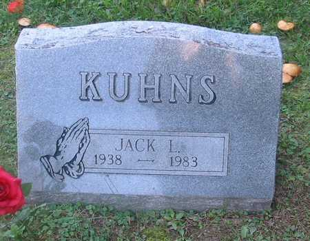 KUHNS, JACK L. - Polk County, Iowa | JACK L. KUHNS