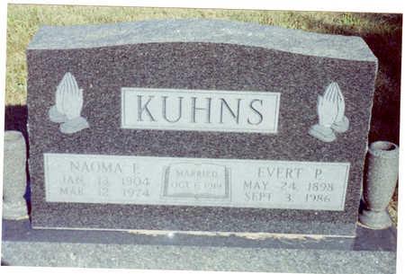 KUHNS, NAOMA - Polk County, Iowa   NAOMA KUHNS