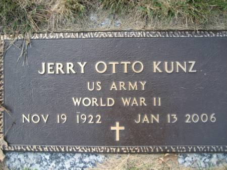 KUNZ, JERRY OTTO - Polk County, Iowa | JERRY OTTO KUNZ