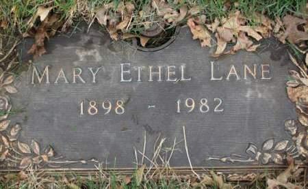 LANE, MARY  ETHEL - Polk County, Iowa | MARY  ETHEL LANE