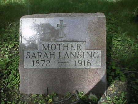 LANSING, SARAH - Polk County, Iowa | SARAH LANSING
