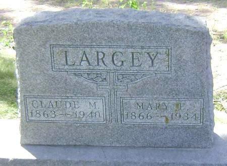 LARGEY, CLAUDE M - Polk County, Iowa | CLAUDE M LARGEY