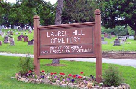 LAUREL HILL, CEMETERY - Polk County, Iowa   CEMETERY LAUREL HILL