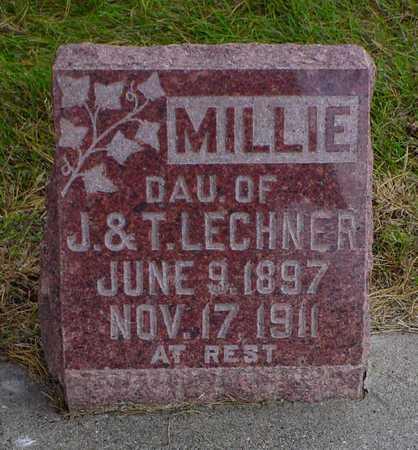 LECHNER, MILLIE - Polk County, Iowa   MILLIE LECHNER