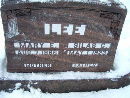 LEE, MARY E. - Polk County, Iowa | MARY E. LEE