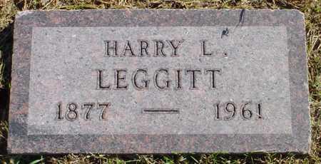 LEGGITT, HARRY L. - Polk County, Iowa | HARRY L. LEGGITT