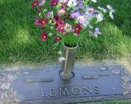 LEMONS, WILMA C - Polk County, Iowa   WILMA C LEMONS