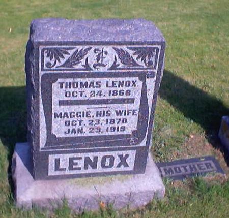 LENOX, MAGGIE - Polk County, Iowa | MAGGIE LENOX